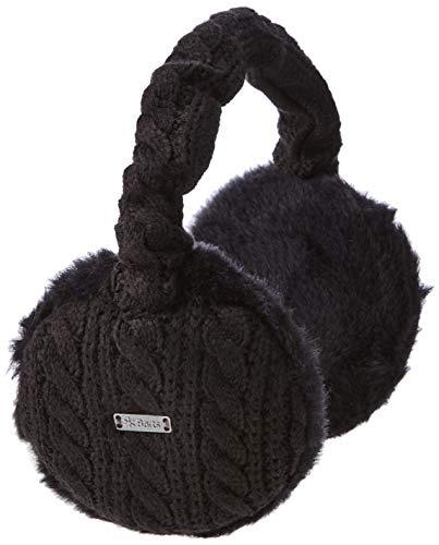 Barts Monique Earmuffs Cache-Oreilles, Noir (Schwarz), Fabricant: Taille Unique Femme prix et achat