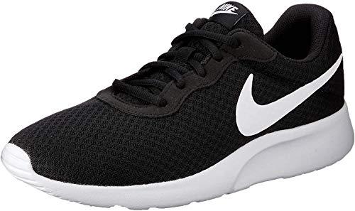 Nike Tanjun', Baskets Homme, Noir (Black/White), 41 EU
