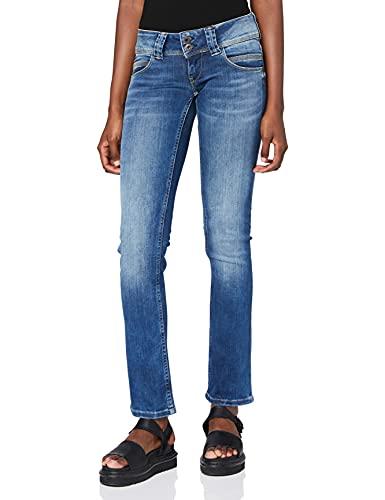 Pepe Jeans Venus Pl200029 Jeans - Femme - Bleu (10oz Authentic Rope Str Med) - 26W/30L