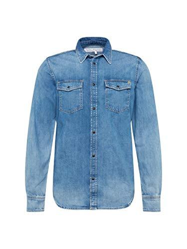 Pepe Jeans - PM302294WY9 - Chemise en jean - Homme -Bleu - XS prix et achat