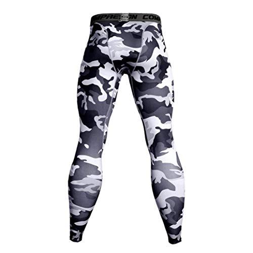 ITISME Homme Automne Et Hiver Mode Casual Collants-Sport Leggings Pantalons de Compression pour...
