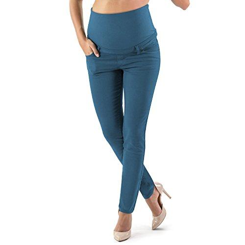 Milano Basic - Jean Grossesse Slim. Pantalon de Maternité Révolutionnaire, Confortable comme Jamais Auparavant (38, Blumarine) prix et achat