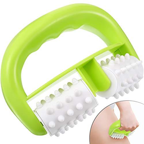 Rouleau de Massage Anti-Cellulite Brosse de Rouleau de Corps Utilisation Humide Sèche pour...