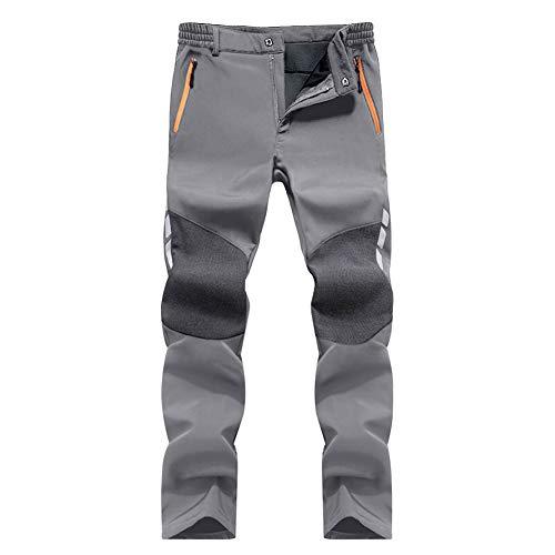 MAGCOMSEN Pantalon en softshell imperméable pour homme et hiver chaud respirant en plein air...