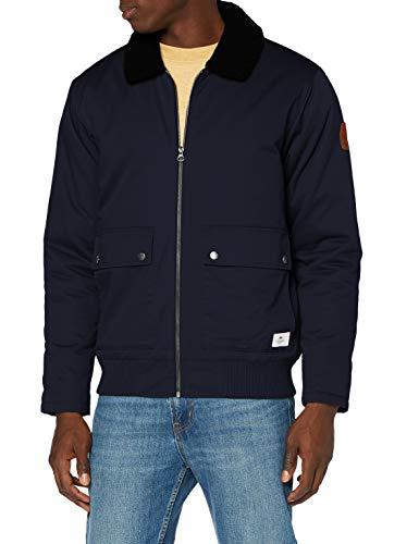 Quiksilver Les Colines-Veste déperlante pour Homme, Navy Blazer, FR : L (Taille Fabricant : L)