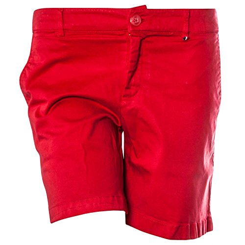 Tommy Jeans Short Chino Rouge