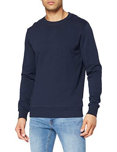 JACK & JONES Jjeholmen Sweat Crew Neck Noos Pull, Bleu (Navy BlazerNavy Blazer), XX-Large Homme prix et achat