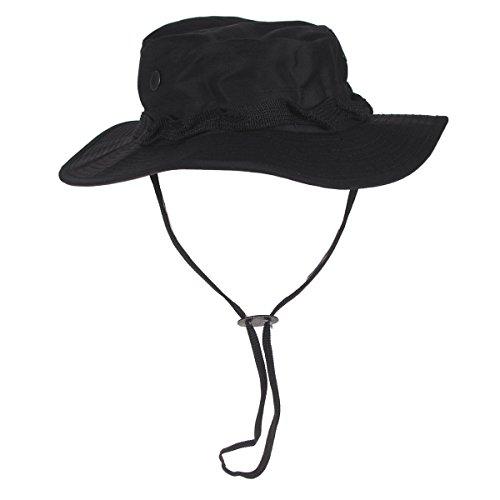 MFH US GI Chapeau de Brousse Boonie Hat (Noir/S)