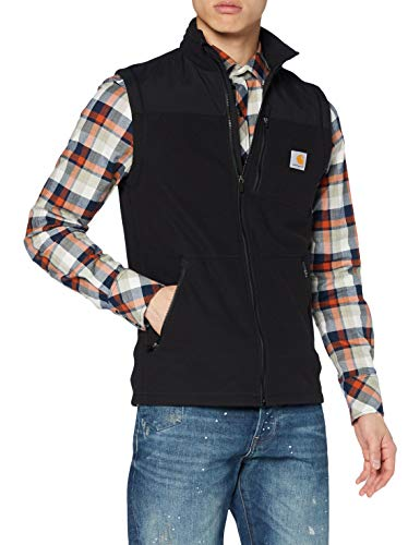 Carhartt Fallon Vest Gilet/Surgilet, Black, L Homme