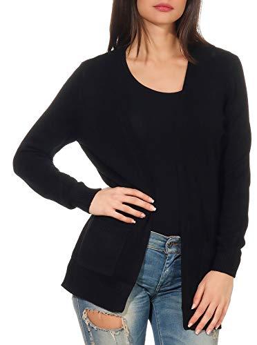 Only NOS 15174274 Gilet, Noir (Black Black), 42 (Taille Fabricant: Large) Femme prix et achat