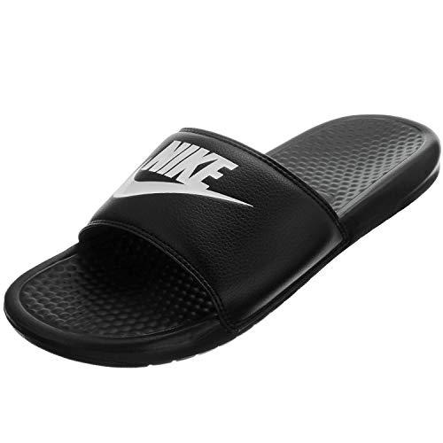 Nike - Benassi - Tongs de Piscine et plage - Homme - Noir (Black/White) - 42.5