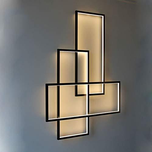 Applique murale LED moderne à intensité variable - Avec...