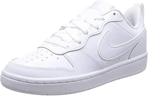Nike Court Borough Low 2, Baskets Garçon Unisex Kinder, White/White/White, 27 EU prix et achat