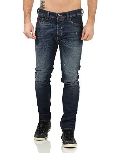 DIESEL Tepphar L.32 Pantaloni Jean Slim, Bleu (Denim 01), 31W x 32L Homme