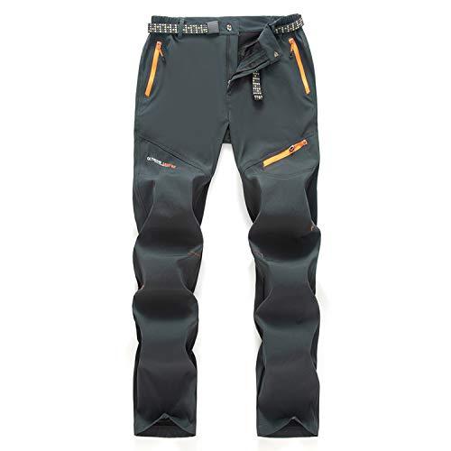 7VSTOHS Pantalons de randonnée pour Hommes en Plein air Printemps-été Pantalon de Marche...