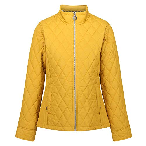 Regatta Doudoune Lifestyle Femme Charna Baffled/Quilted Jackets Femme Mustard Seed FR: XL...