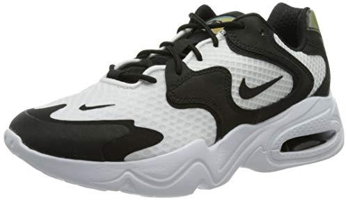 Nike WMNS Air Max 2X, Chaussure de Course Femme, White Black White, 38.5 EU prix et achat