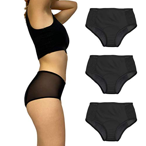 Culotte Menstruelle - Capeebara - Shorty Menstruel - Flux Important - SHORTY Absorbant Règles...