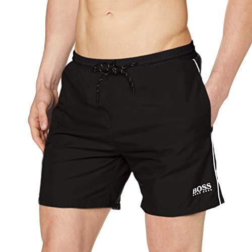 BOSS Hommes Starfish Short de Bain en Tissu à séchage Rapide avec Logo Contrastant et...