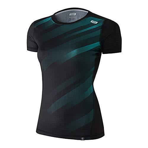 42K Running Elements T-shirt technique 100 % recyclé pour femme M Modèle Hearth