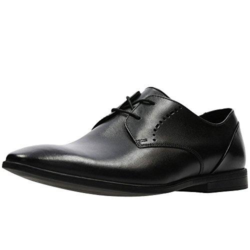 Clarks Bampton Lace, Derbys Homme, Noir (Black Leather), 43 EU prix et achat