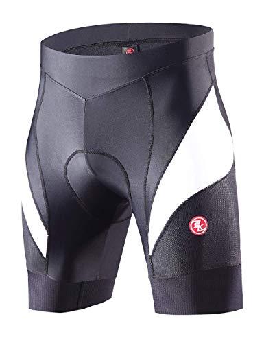 Souke Sports Cuissard de Cyclisme pour Homme Confortable Shorts de 4D Rembourré Séchage Rapid...