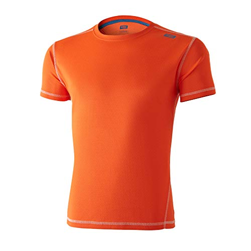 42K RUNNING - T-shirt technique 42K Lunar Fluor Orange