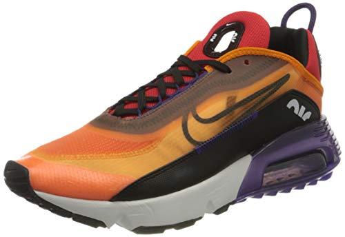 Nike Air Max 2090, Baskets Homme, Magma Orange Orange Eggplant Habanero Red Black, 41 EU