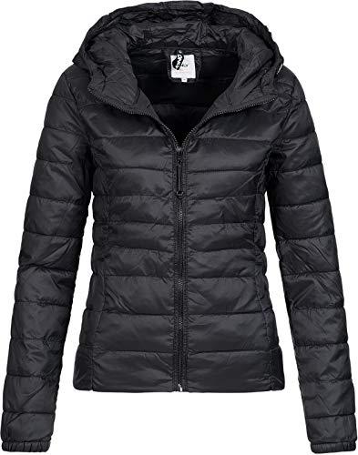 ONLY NOS Onltahoe Hood Jacket OTW Noos Blouson, Noir (Black), 40 (Taille Fabricant: Medium) Femme