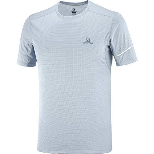 SALOMON Agile T-Shirt Respirant Homme Trail Running Randonnée