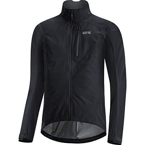 GORE WEAR Hommes Veste de Vélo, GORE-TEX PACLITE, XL, Noir
