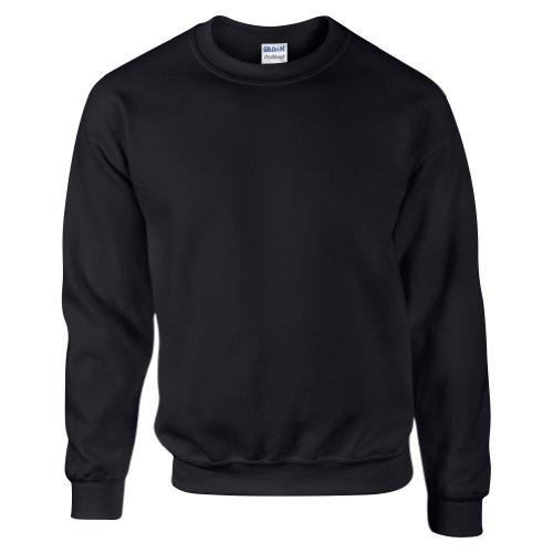 Sweatshirt Gildan pour homme (M) (Noir)