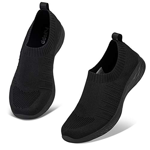Kyopp Chaussures de Sport Femme Baskets Mode Femme Gym Fitness Sport Sneakers Chaussures Running Femme ,38 EU,2 Noir prix et achat