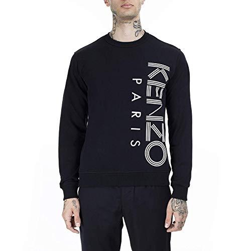 Kenzo Paris côté Logo Sweatshirt Black Extra Large