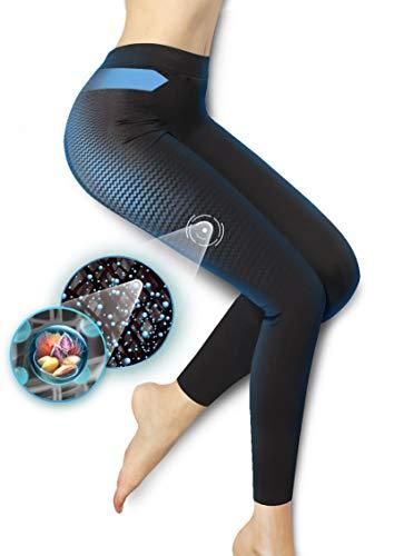 Lytess - Legging Minceur de Nuit - Minceur et Anti-Cellulite - Action de Nuit - S/M : 36-42 - Noir