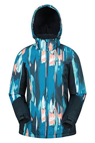 Mountain Warehouse Veste de Ski Dawn Femme - Résistante à la Neige, Chaude, Manteau de Ski à...