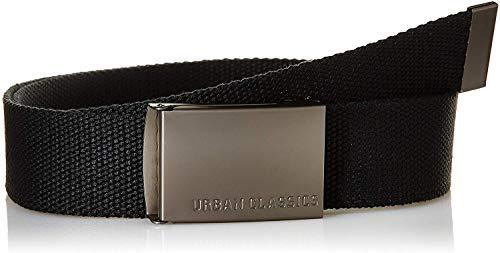 Urban Classics Canvas Belts Ceinture, Noir (Black), Fabricant: Taille Unique Mixte