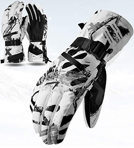 CXW Gants de Ski Gants Thermiques à écran Tactile Gants de Snowboard Imperméables pour...
