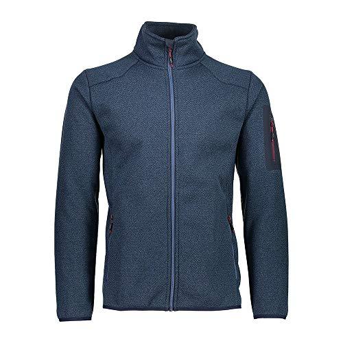 CMP Veste en polaire tricotée avec poche pour homme 30h7007 XXL denim