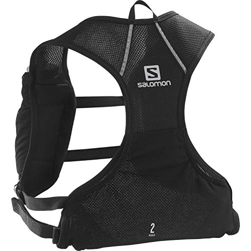 Salomon Agile 2 Set Gilet d'hydratation 2 L Unisexe 2 x Soft Flasks Incluses Pour Trail Running...