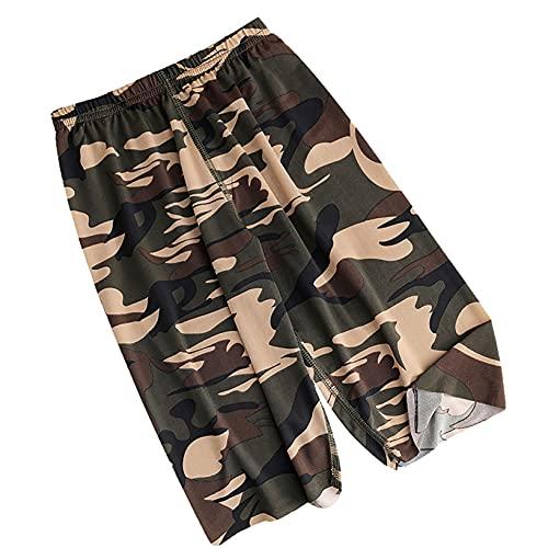 Oyolan Short Camouflage Été Garçon Enfant Plage Short de Sport Séchage Rapide Maille Bermuda Fitness Gym Yoga Workout 5-12 Ans Type C Camouflage 8-10 Ans prix et achat