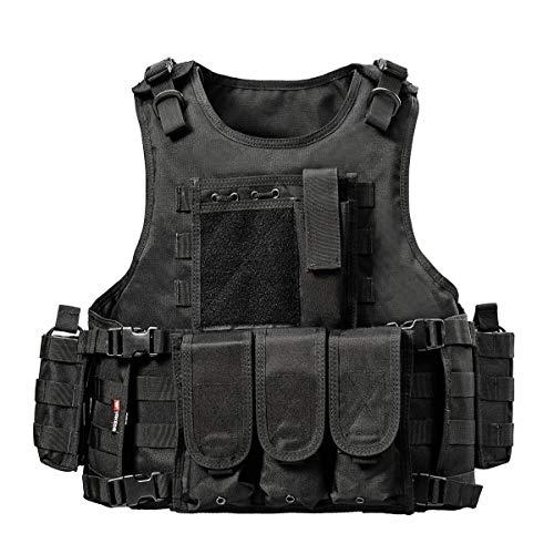 YAKEDA Ventilateurs Ventilateurs Armée Tactique Vest CS Champ Swat Tactical Army Vest Vest...