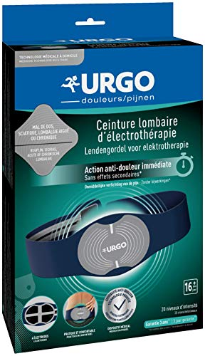 Urgo - Ceinture lombaire d'électrothérapie - Technologie TENS - Soulagement de la douleur - Avec piles prix et achat