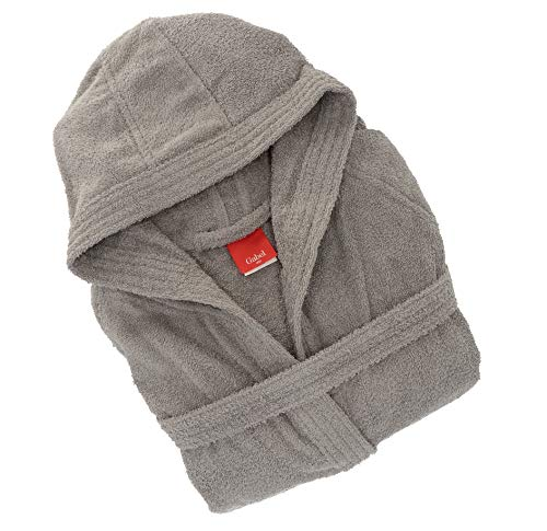 Gabel 09100 905 Peignoir pour Adulte, 100% Coton, Fer, Taille S
