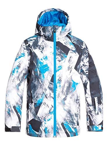 Quiksilver EQBTJ03098 Veste de Ski/Snowboard Garçon, Cloisonne Random Pics, FR (Taille Fabricant : 14/XL) prix et achat