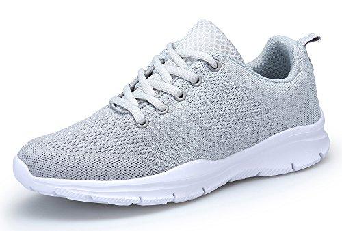 KOUDYEN Chaussures de Sport Course Homme Femme Basket Lacets Fitness Confortable Sneakers Trail...