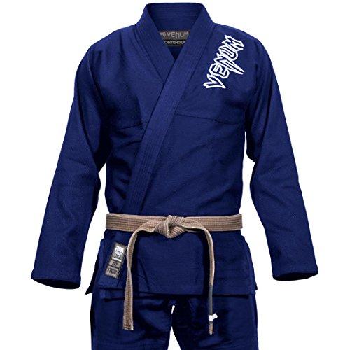 Venum Contender 2.0 Kimono Homme, Bleu Marine, FR : A2 (Taille Fabricant : A2)