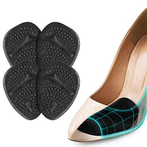 Semelles Chaussures Trop Grandes, Demi Semelle Silicone Avant Pied pour un Soulagement Rapide...