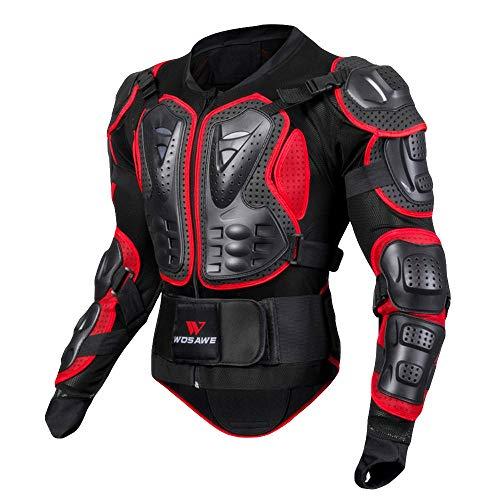 Veste Armure Moto Blouson Motard Gilet Protection Équipement de Moto Cross Scooter VTT Enduro...
