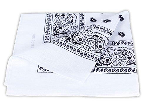Bandana disponible en différentes couleurs de très haute qualité 100% coton, environ 54 x 54...